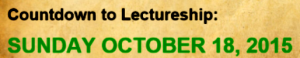 CoundownToLectureship